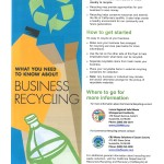 Business Recycling MCR Flyer