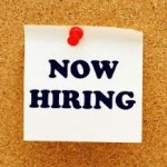 Now Hiring corkboard