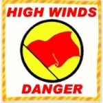 High Wind Danger